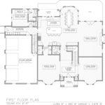 First Floor Plan for 258 Long Hill Drive, Short Hills
