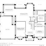 Basement Floor Plan, 258 Long Hill Drive, Short Hills
