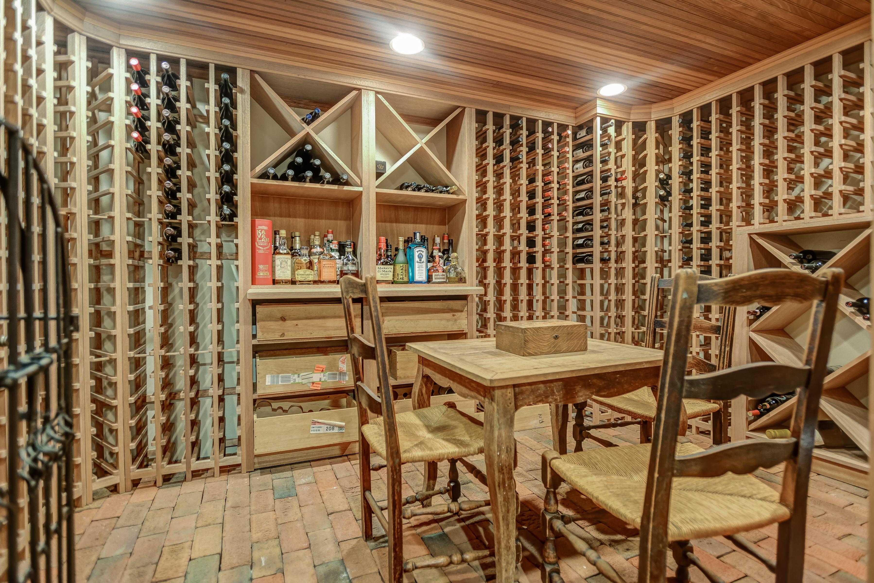 22 – Gorgeous 1200 Bottle Wine Cellar – 67. Oak Ridge Avenue