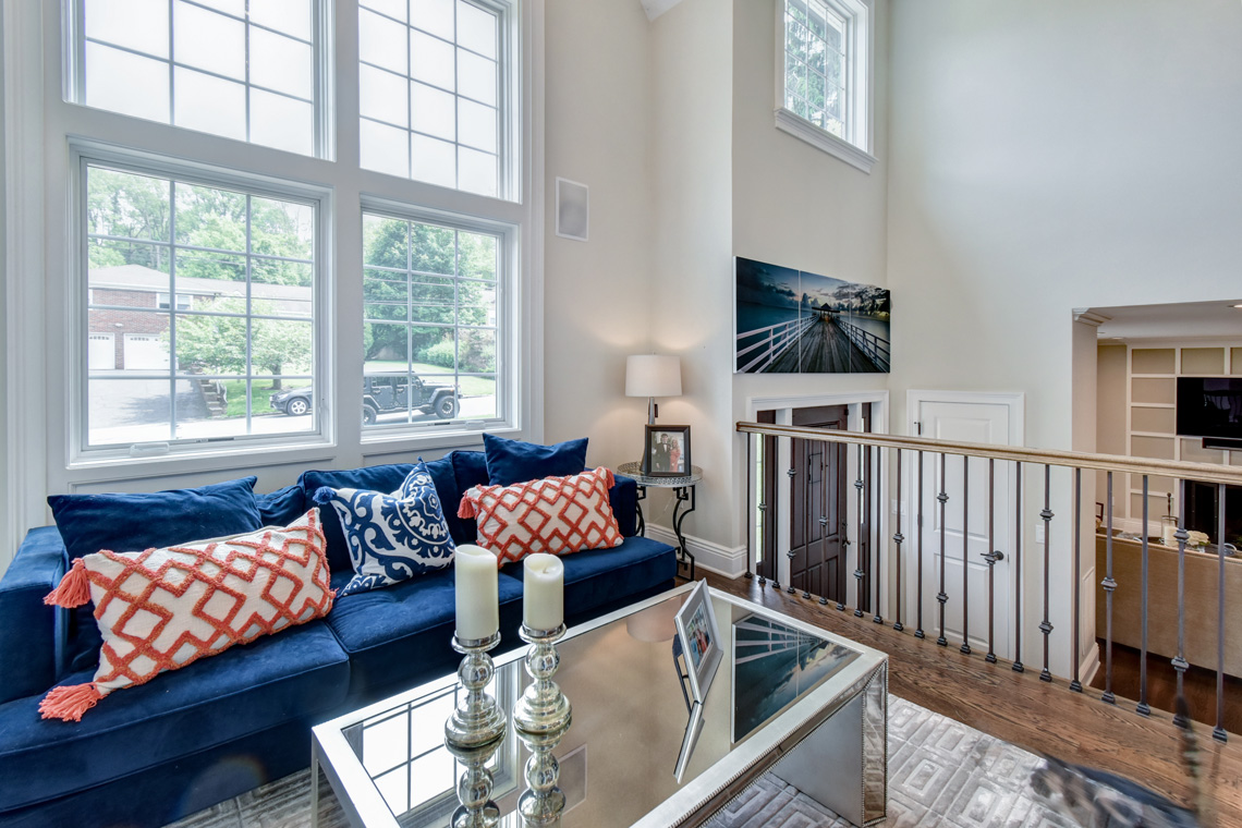 3 – 137 Silver Spring Road – 2-Story Living Room