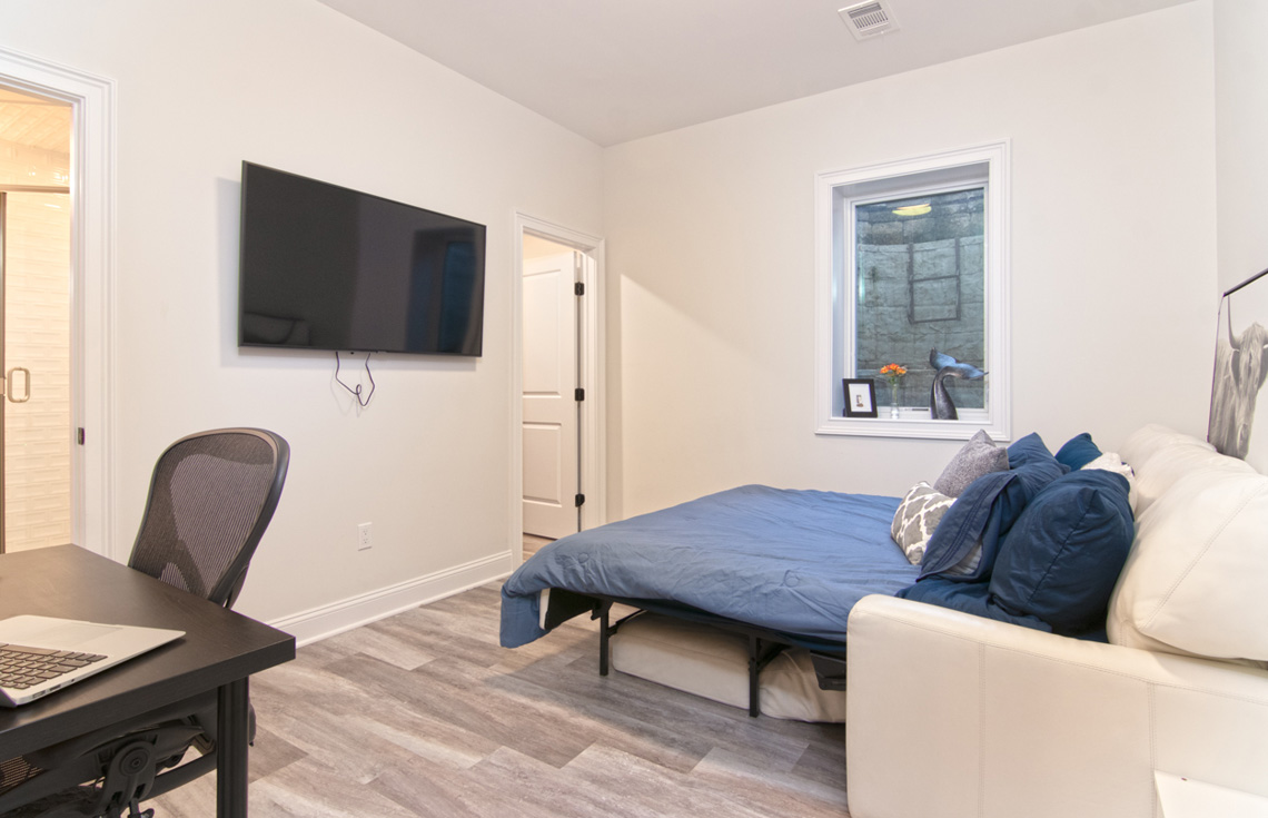 20 – 57 Locust Avenue – Lower Level Bedroom