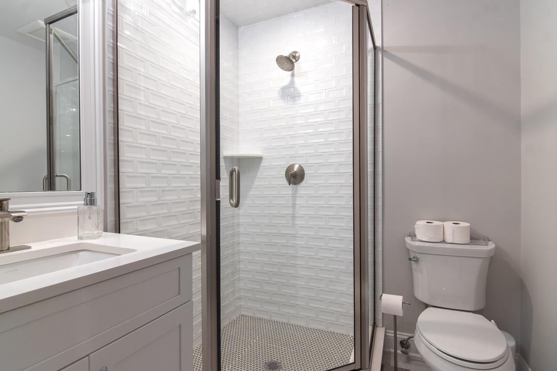 21 – 57 Locust Avenue – Lower Level Bathroom