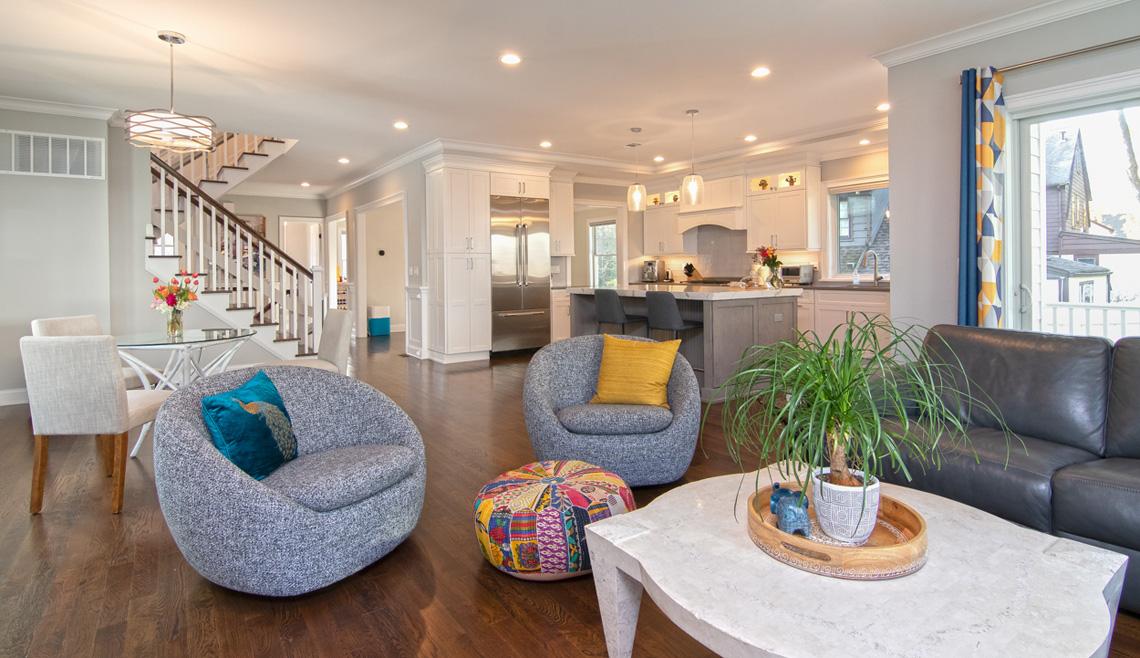 4 – 57 Locust Avenue living room