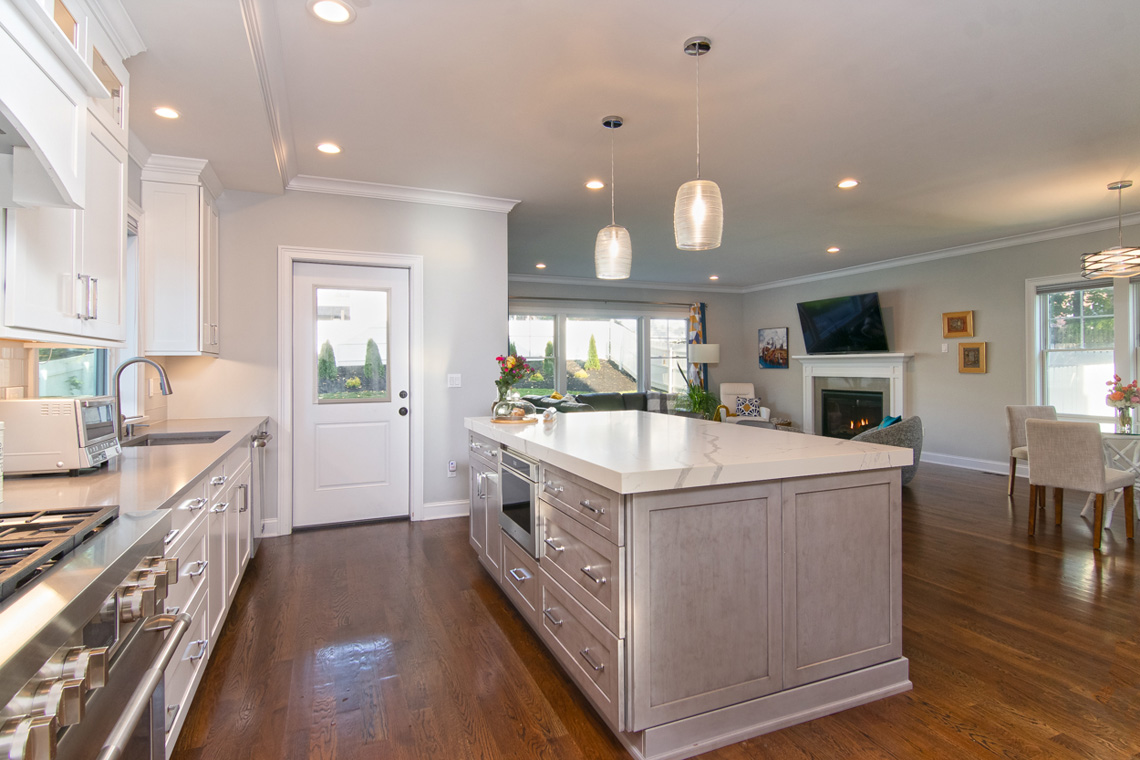 7 – 57 Locust Avenue – Kitchen from dining room