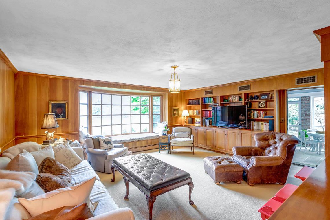 12 – 50 Stewart Road – Wood-Paneled Family Room