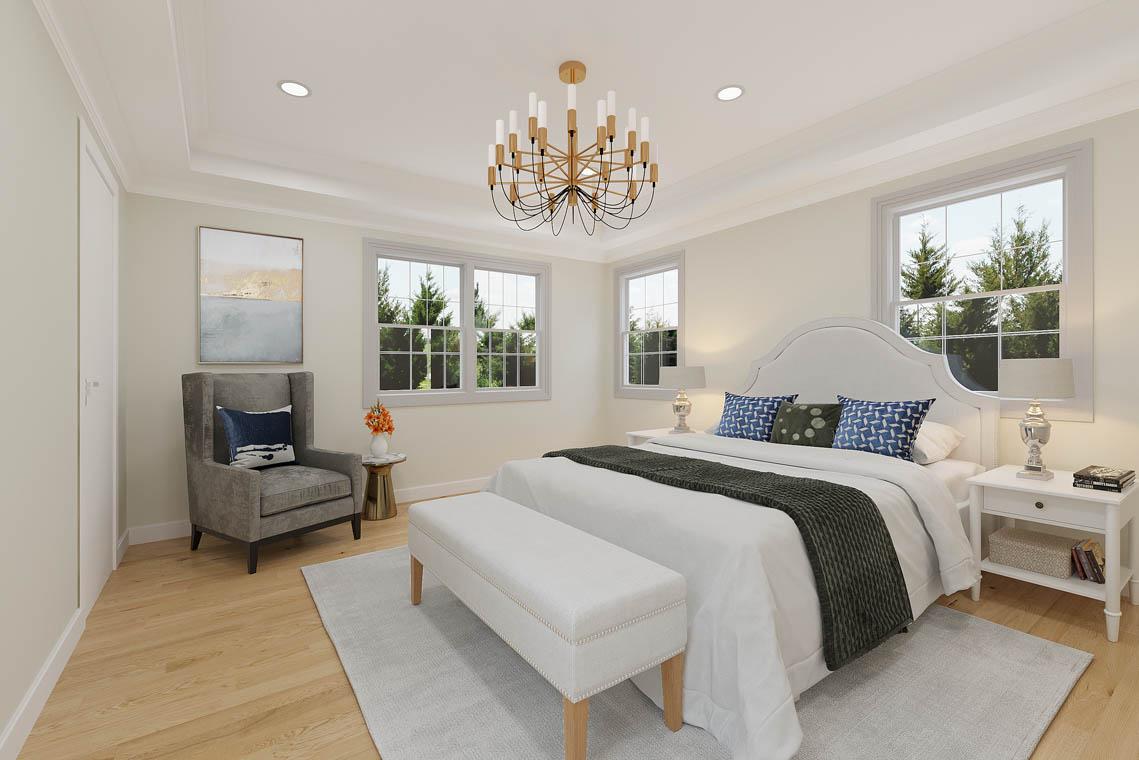5 – 59 New England Avenue – Master Bedroom Rendering