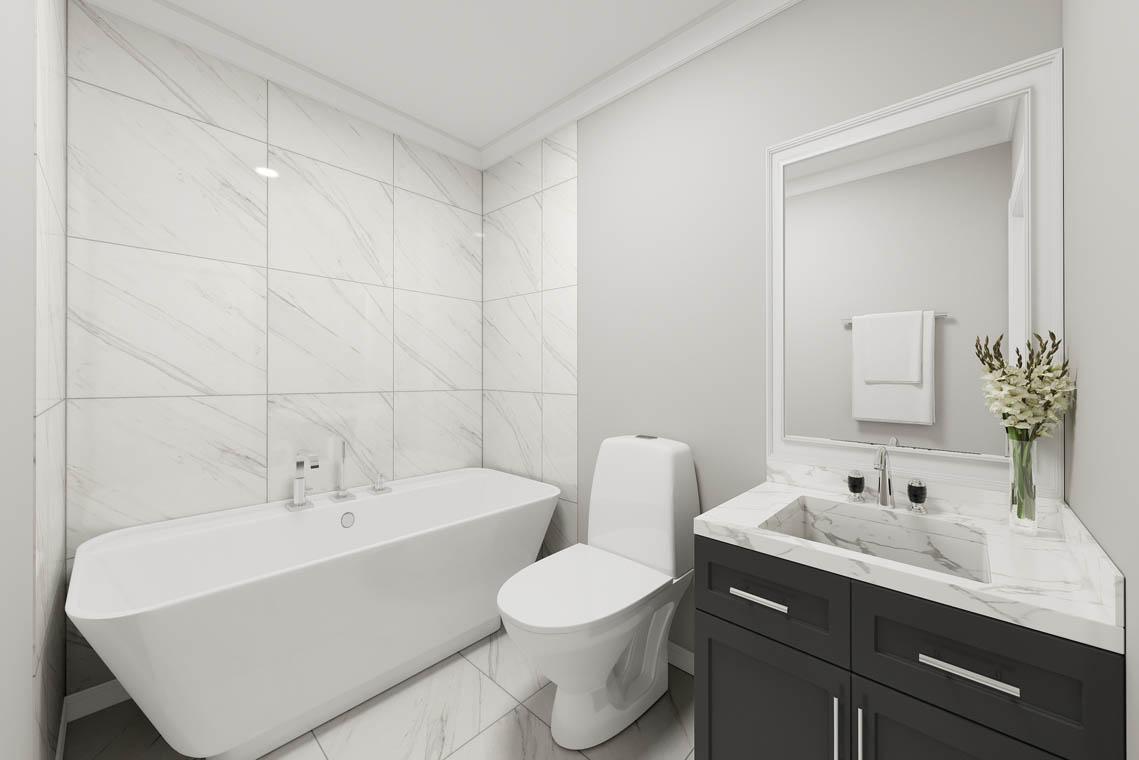 7 – 59 New England Avenue – Bath Rendering