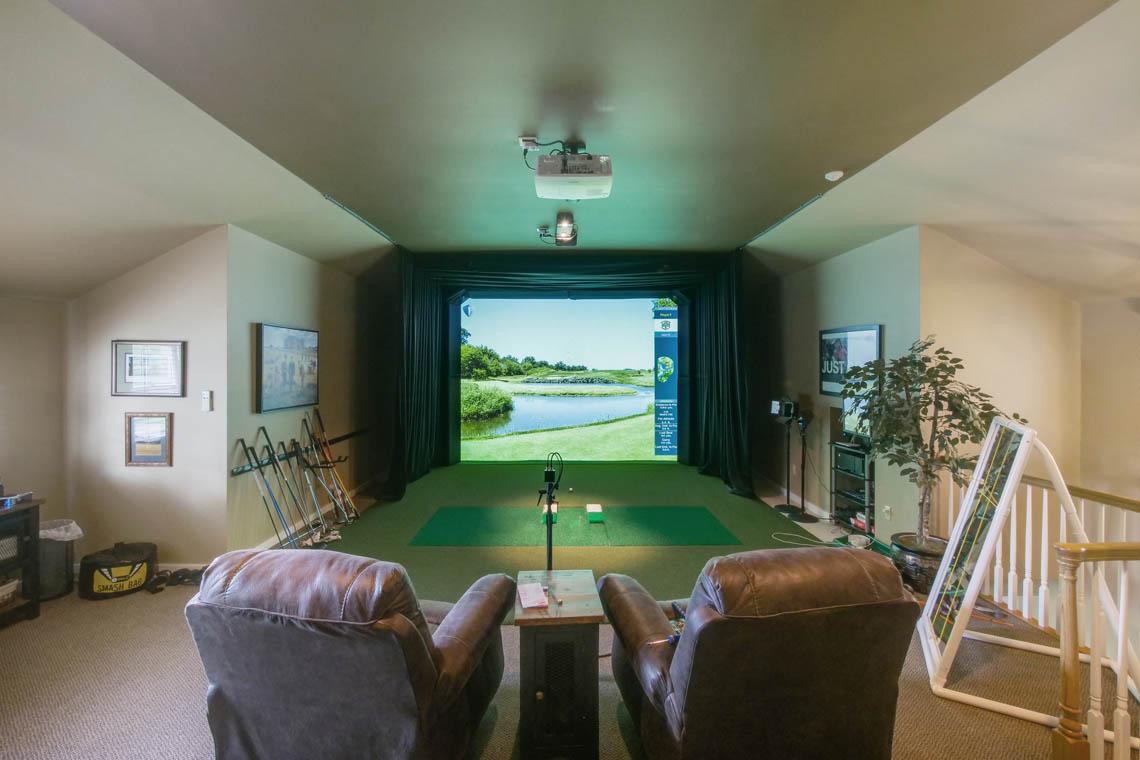 24 – 3 Winston Farm Lane – Golf Simulator