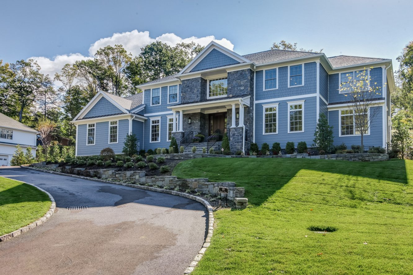 1 – Front – 20 Troy Drive – Example of Most Recent Project from Builder