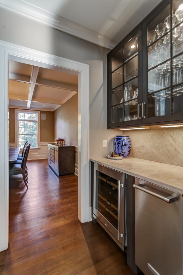 11 – Butler's Pantry – 20 Troy Drive, Example of Most Recent Project from Builder
