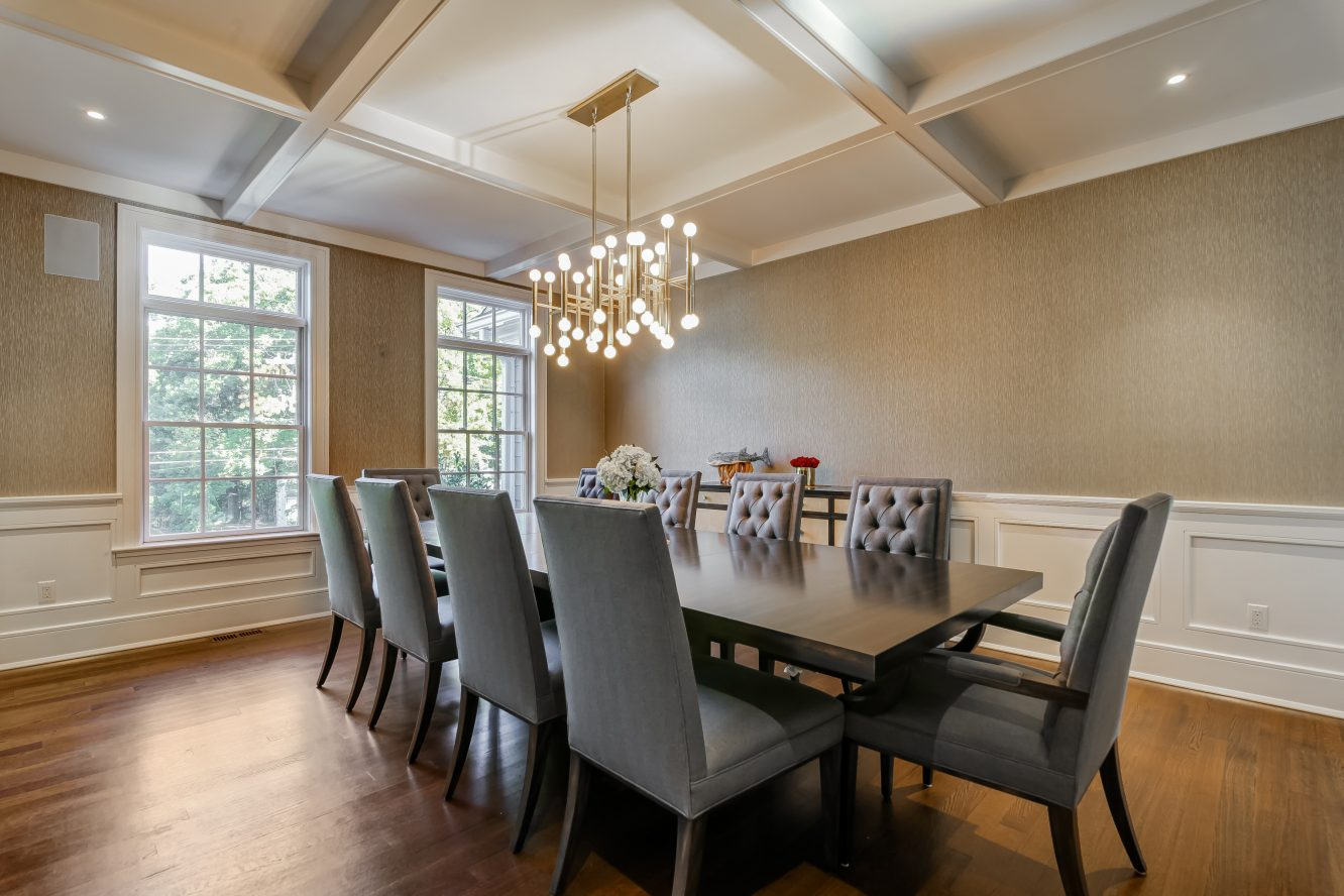 12 – Dining Room – 20 Troy Drive, Example of Most Recent Project from Builder