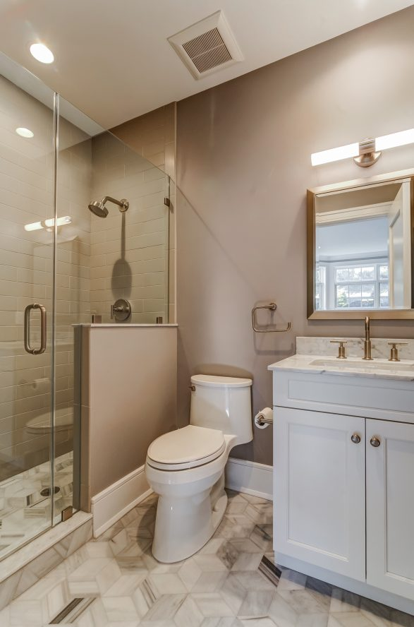 14 – In-law Suite Full Bath – 20 Troy Drive, Example of Most Recent Project from Builder