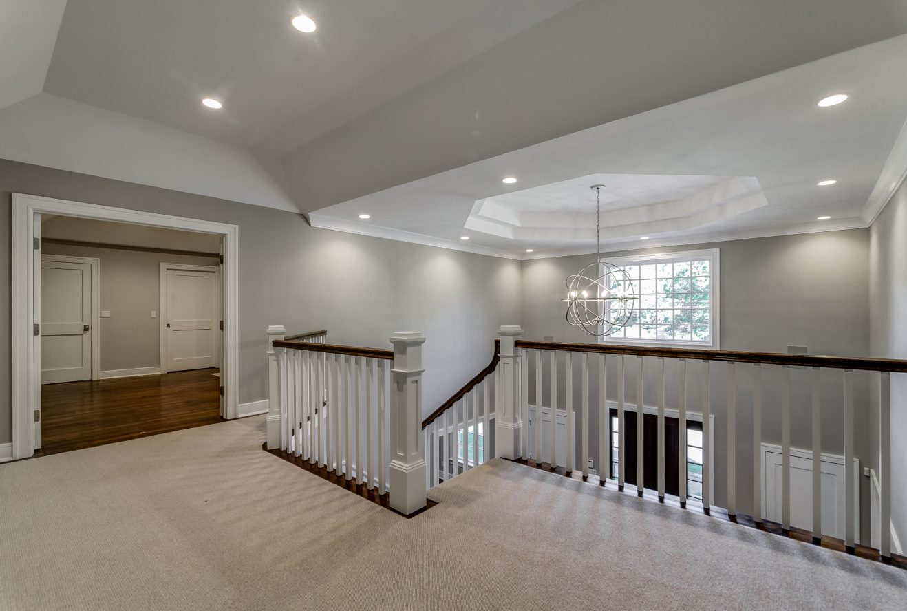 15 – Second Floor Landing – 20 Troy Drive – Example of Most Recent Project from Builder