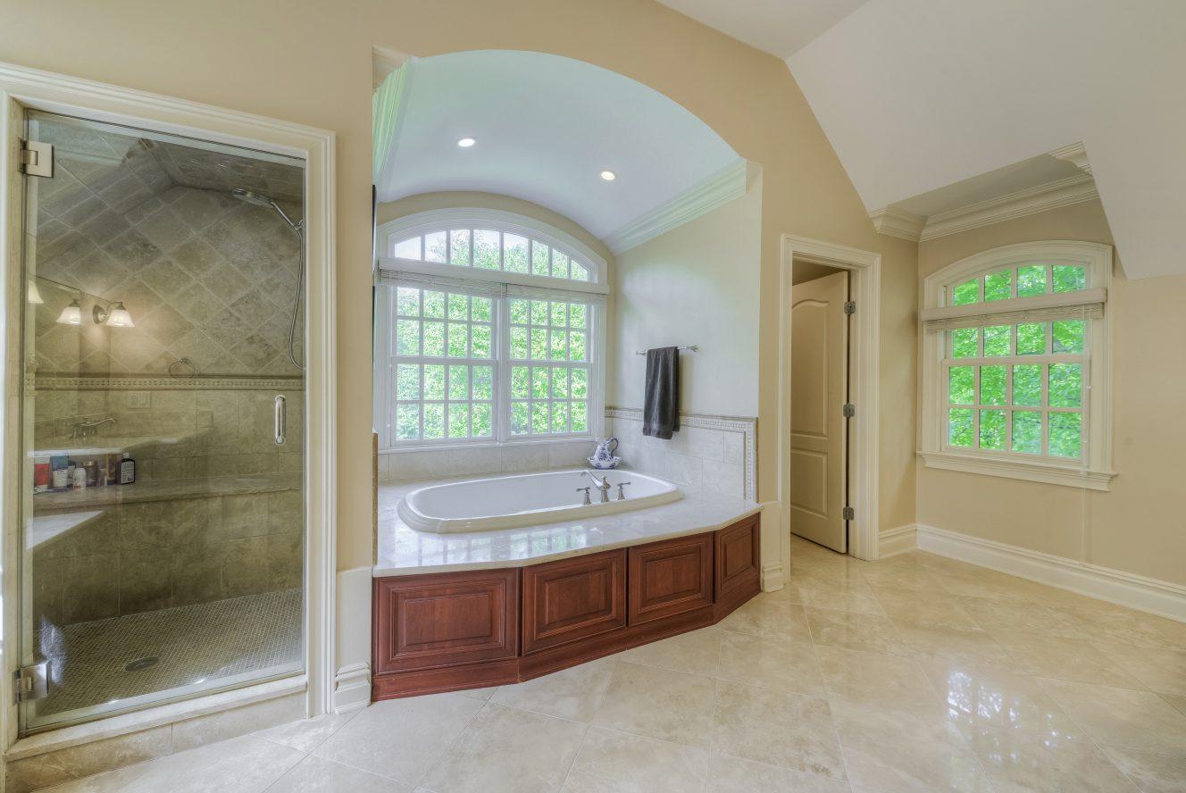 15 – Spa-like Master Bath – 4 Fox Hill Lane