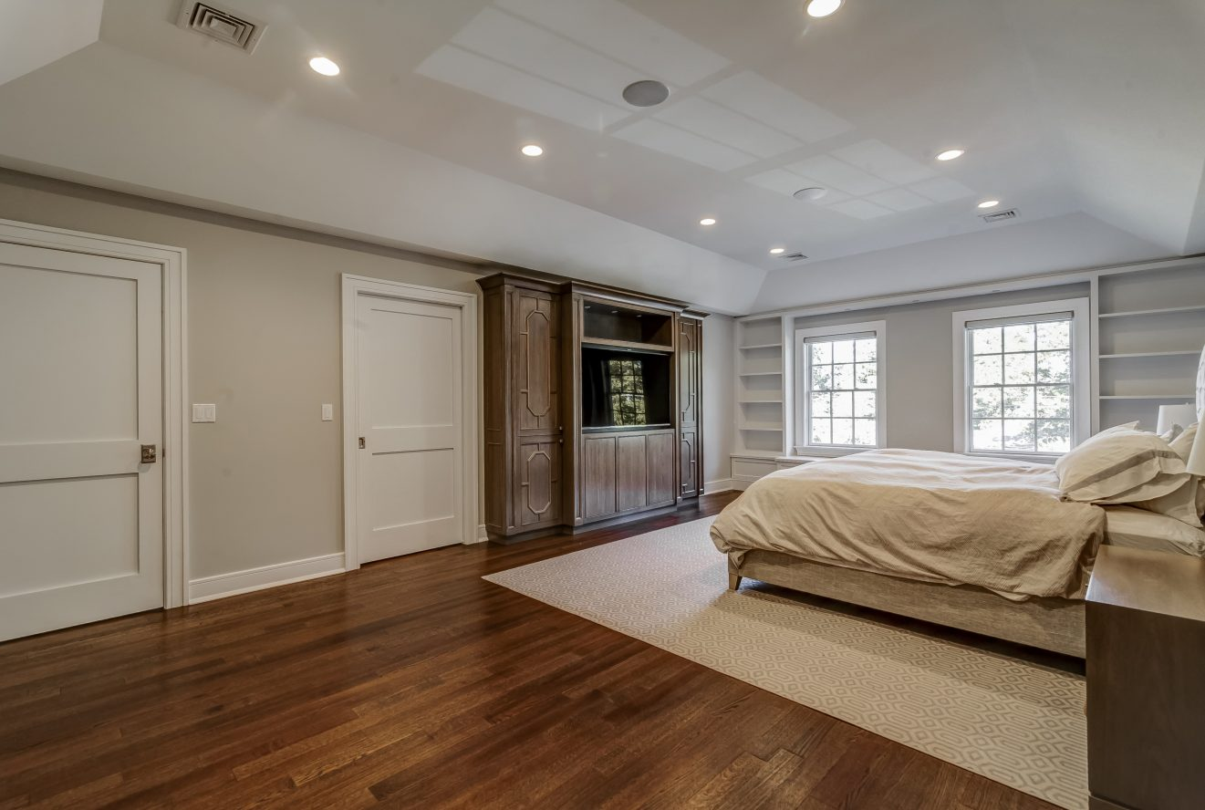 17 – Luxurious Master Bedroom – 20 Troy Drive, Example of Most Recent Project from Builder