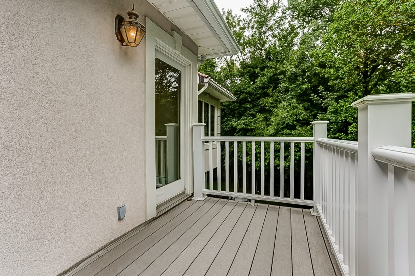 18 – 200 White Oak Ridge Road – Master Balcony