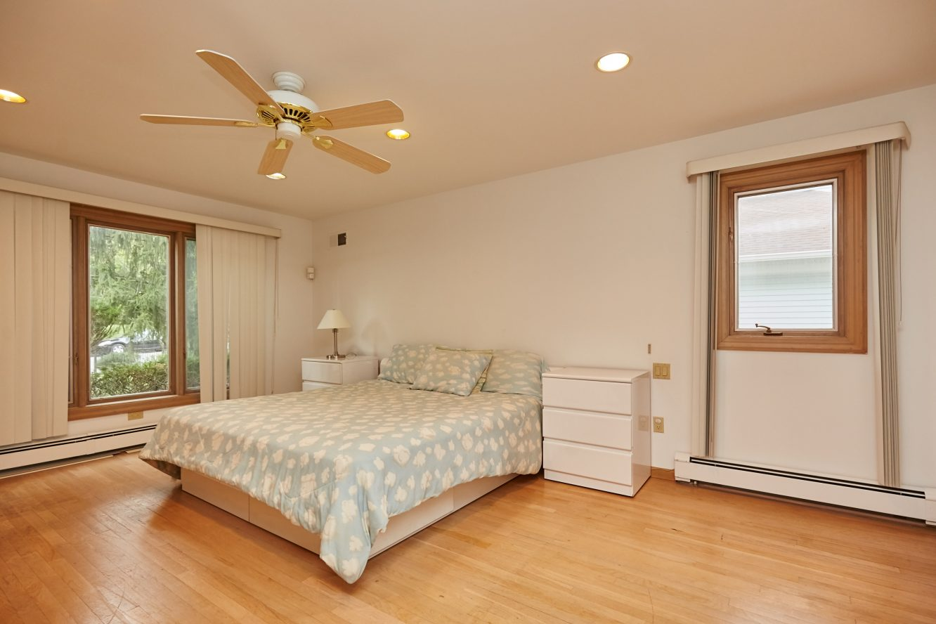 18 – 80 Hillside Avenue – 1st Level In-law Suite Bedroom