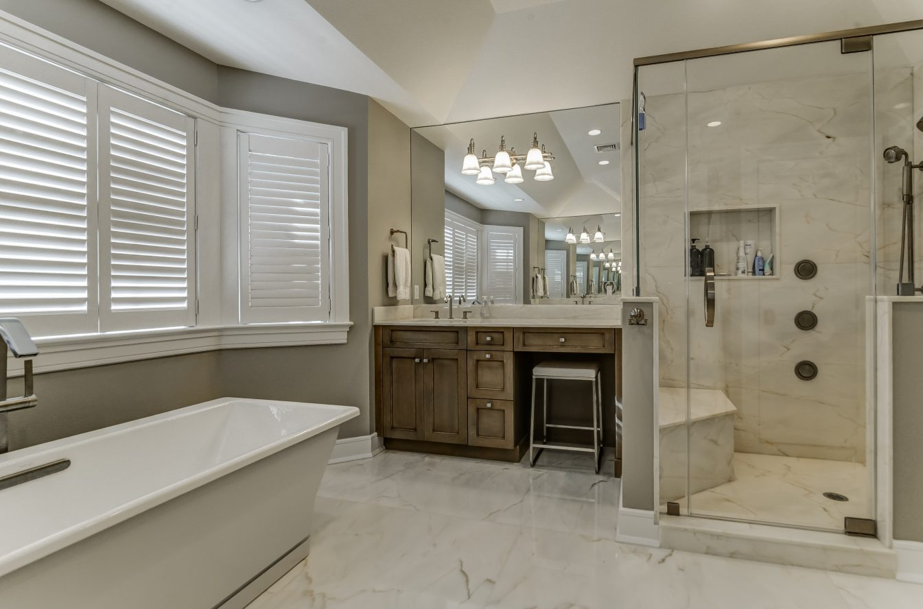 18 – Spa-like Master Bath – 20 Troy Drive, Example of Most Recent Project from Builder