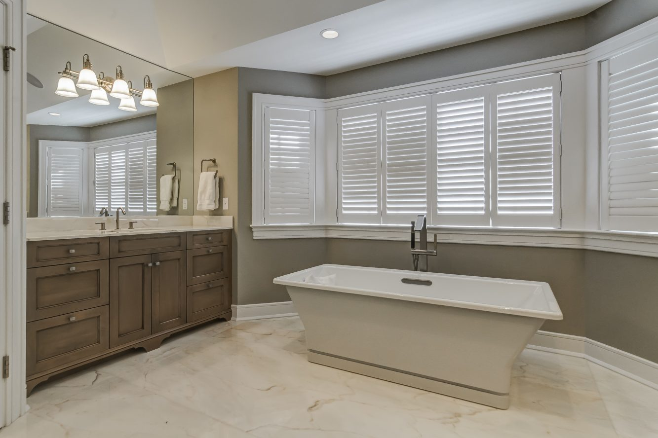 19 – Spa-like Master Bath – 20 Troy Drive, Example of Most Recent Project from Builder