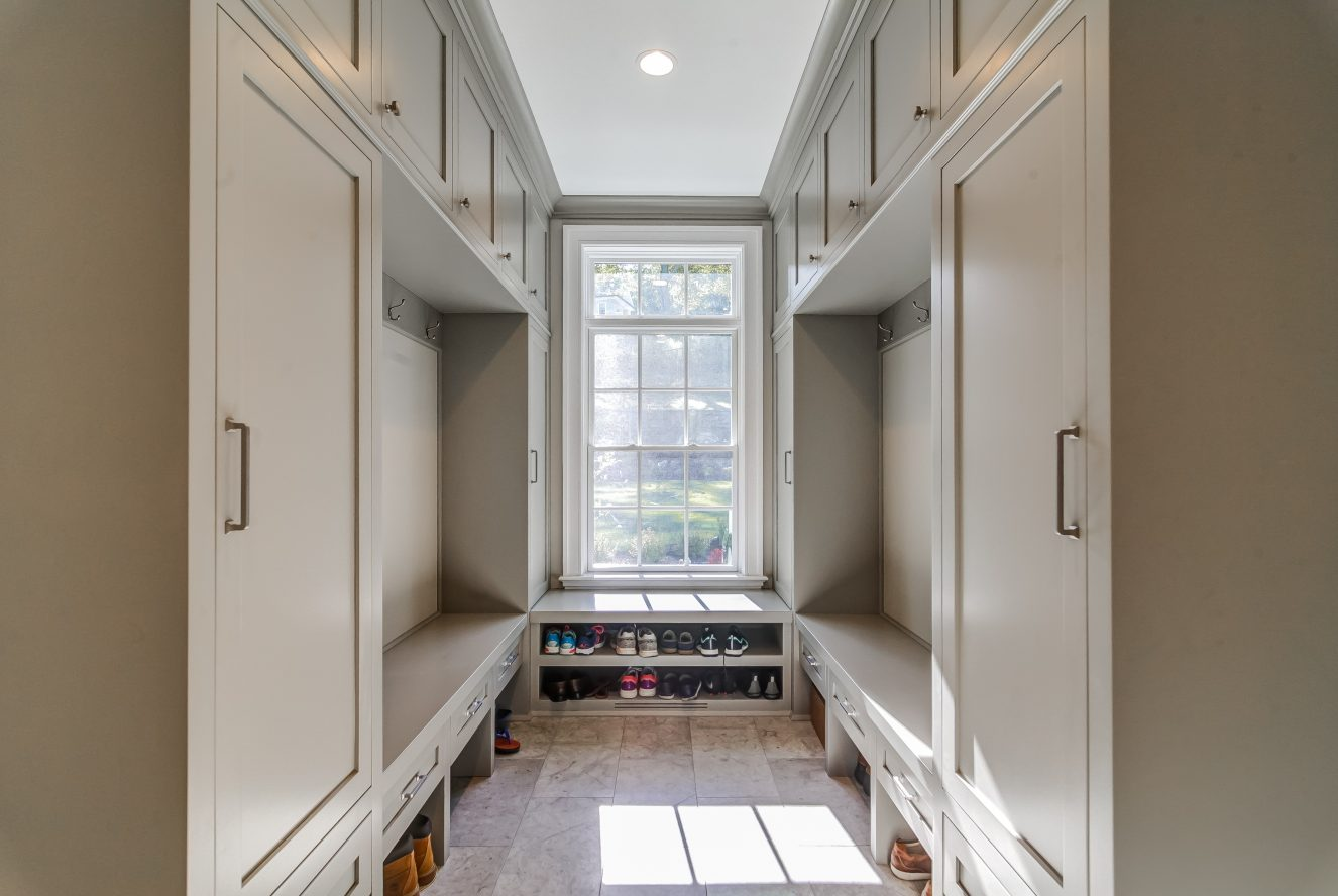 23 – Beautiful Mudroom – 20 Troy Drive, Example of Most Recent Project from Builder