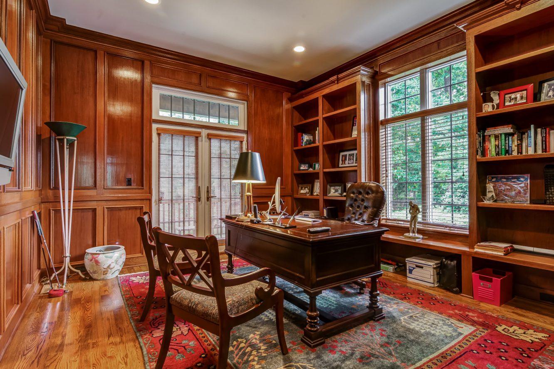 5 – 12 Shirlawn Drive – Wood-paneled Office