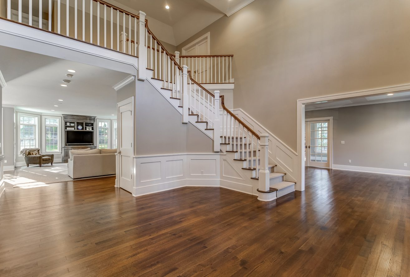 5 – Two-Story Grand Entrance Hall – 20 Troy Drive, Example of Most Recent Project from Builder