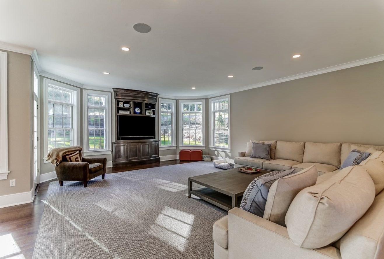 6 – Family Room – 20 Troy Drive, Example of Most Recent Project from Builder