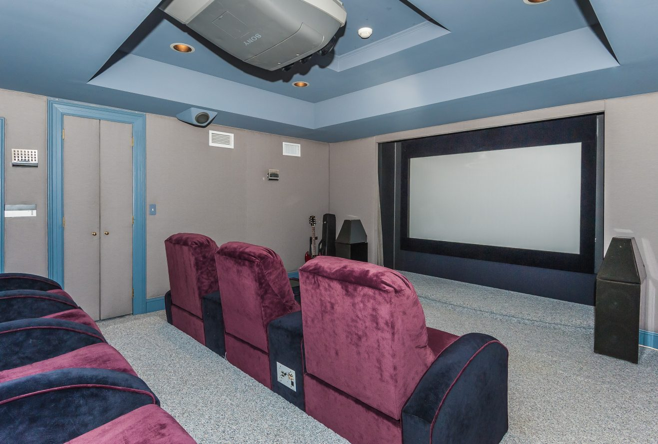 20 – Stunning Custom Home Theater – 6 Kimball Circle
