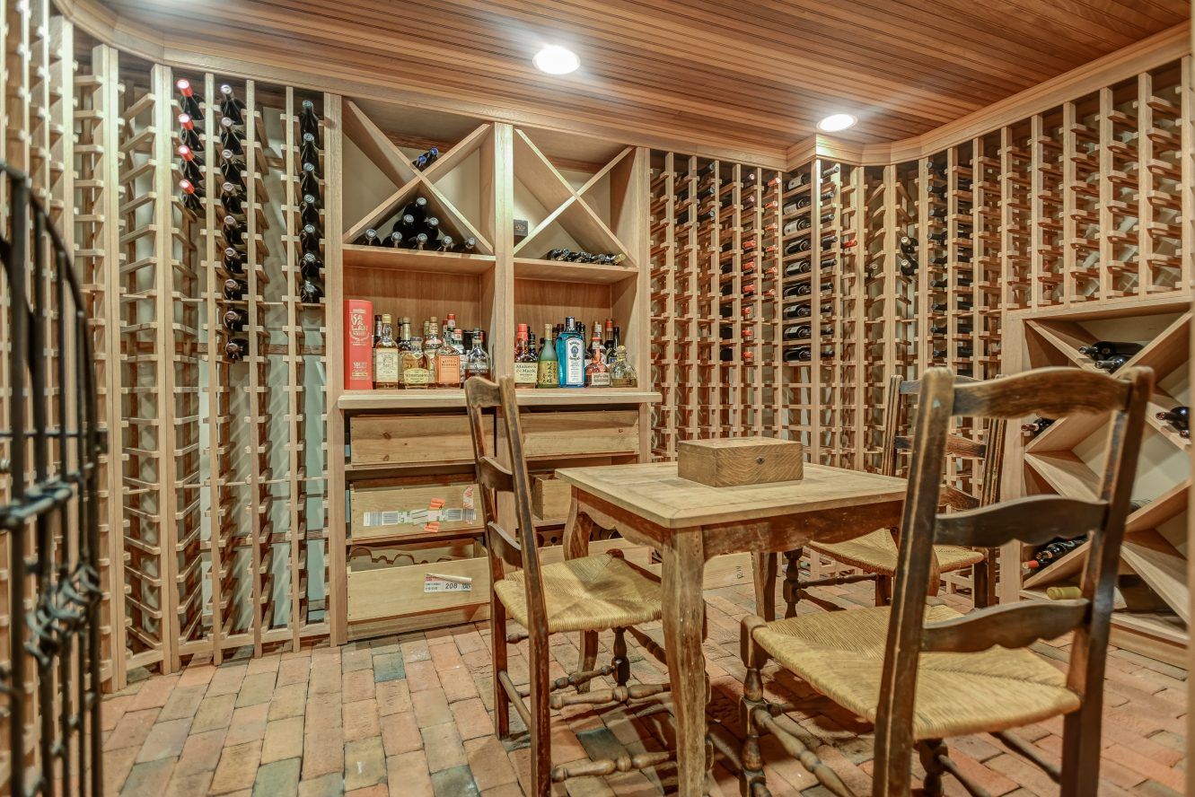 22 – Gorgeous 1200 Bottle Wine Cellar – 67. Oak Ridge Avenue