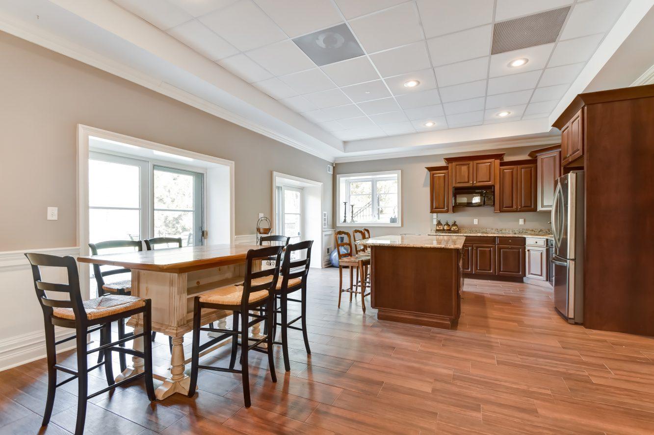20 – 296 Hartshorn Drive – Lower Level Kitchen