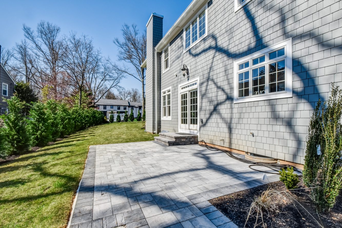 23 – 93 Slope Drive – Patio & New Row of Trees