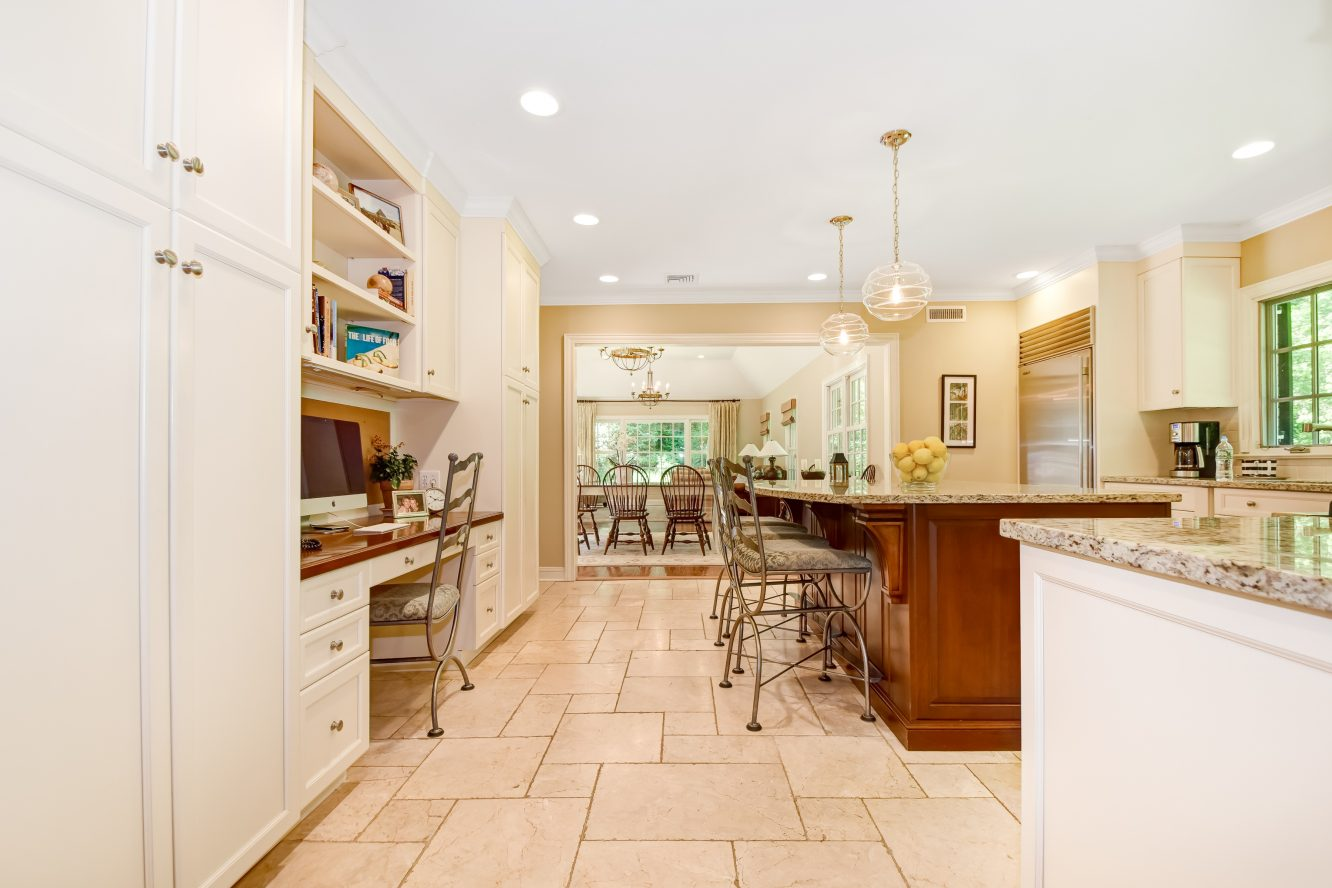 11 – 15 Maryknoll Drive – Gourmet Eat-in Kitchen open to the Family Room