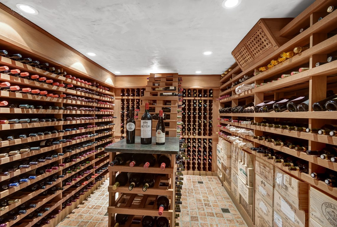 21 – 17 Clive Hills Road – Custom Built Wine Cellar