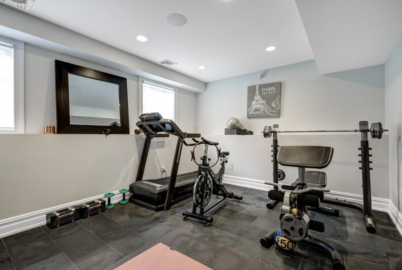 19 – 220 White Oak Ridge Road – Exercise Room or 5th Bedroom