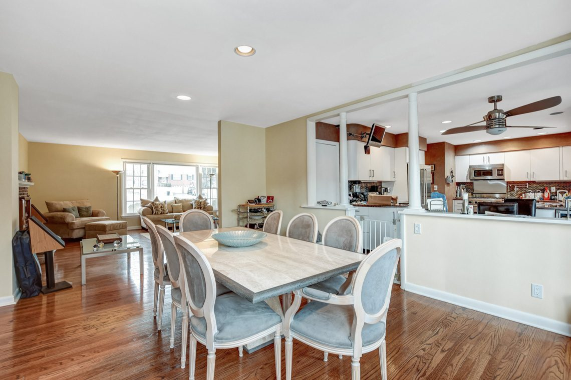 7 – 10 Eliot Place – Dining Room into Kitchen