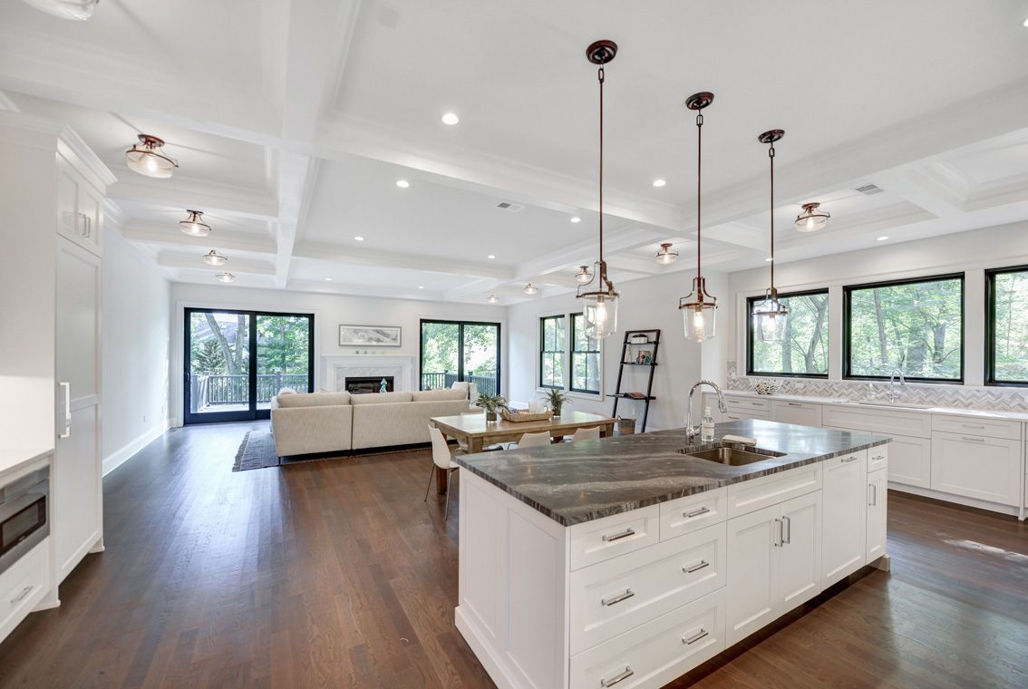 6 – 40 Hillside Avenue – Kitchen into Family Room