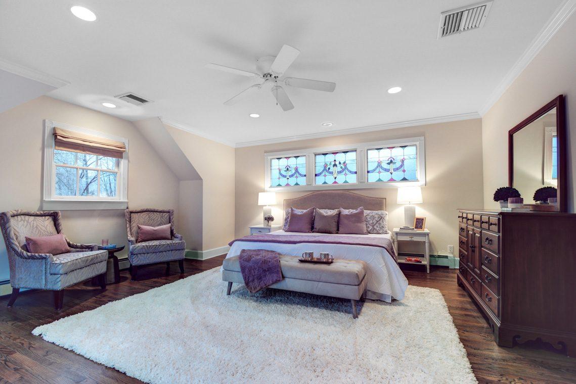 17 – 438 White Oak Ridge Road – Master Bedroom