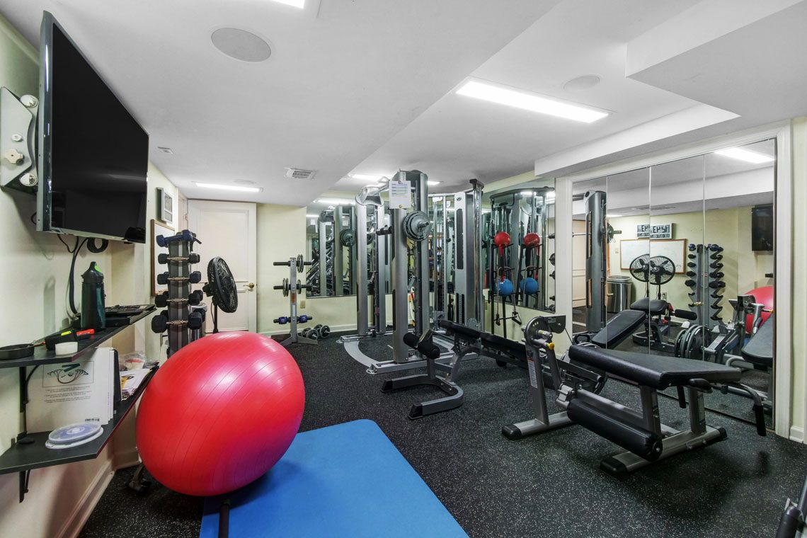 20 – 275 Hobart Avenue – Exercise Room