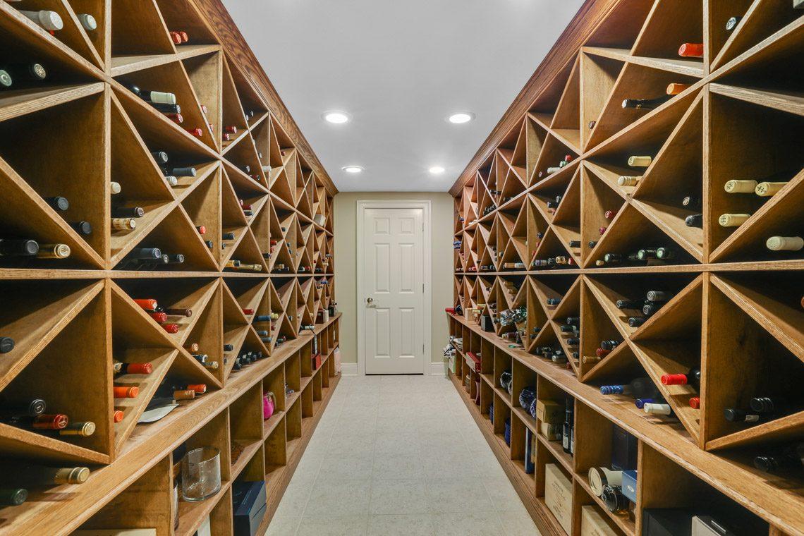 24 – 9 Troy Lane – Wine Cellar